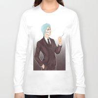 bleach Long Sleeve T-shirts featuring Bleach: Grimmjow by Mattie