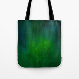 Green Abstract Tote Bag