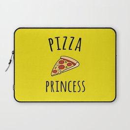 Pizza Princess Funny Quote Laptop Sleeve