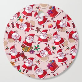 Santa Gift Pattern Cutting Board