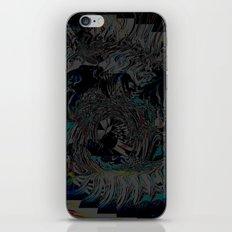racewheel iPhone & iPod Skin