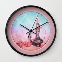oriental Wall Clocks featuring ORIENTAL HARMONY by VIAINA
