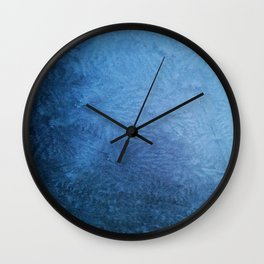 Frosted Windshield Wall Clock