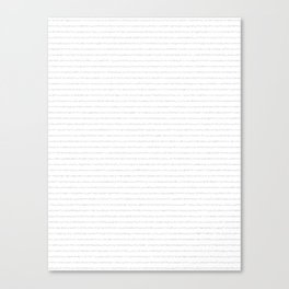 Seismic #798 Canvas Print