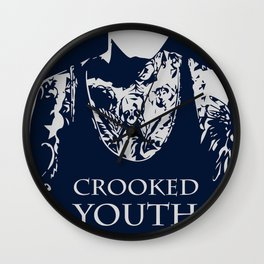 Crooked Youth Wall Clock