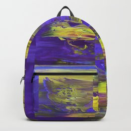 Dive In Dive Ine in a purple melody Backpack