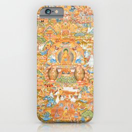 Mandala Buddhist 14 iPhone Case