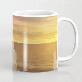 Will Rogers State Beach at Sunset Coffee Mug