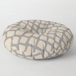 Snake Skin Pattern Floor Pillow