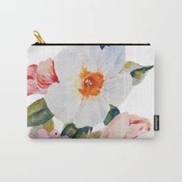 Loose Spring Bouquet Carry-All Pouch