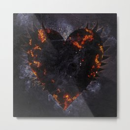 Heart of Darkness Metal Print