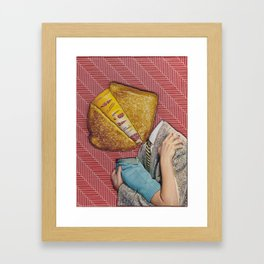 Grilled Cheese Love No. 28 Framed Art Print