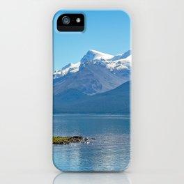 Morning at Lake Maligne iPhone Case