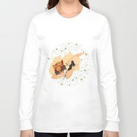 princess mononoke Long Sleeve T-shirts featuring Princess Mononoke by Amarie
