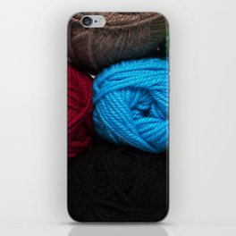 Knitting Bag One iPhone Skin