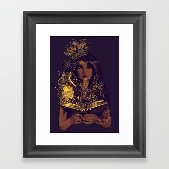 THE BELIEF OF CHILDHOOD Framed Art Print