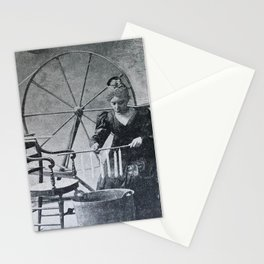 Antique candle making Stationery Cards