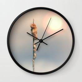 Late Summer Sun Wall Clock
