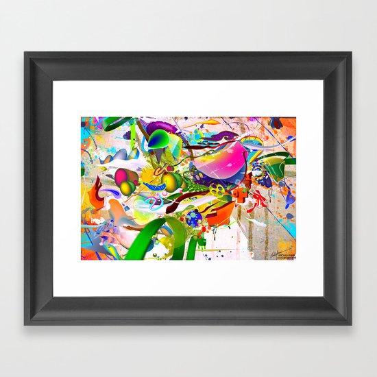 Inner Dawn Framed Art Print