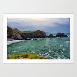 Screda Cove, Hartland Quay, Devon Art Print
