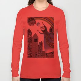 Rainbow Mine (2) Long Sleeve T-shirt