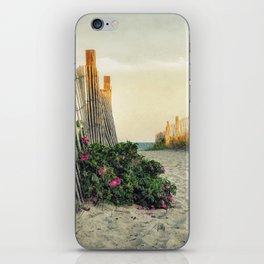 Beach Roses iPhone Skin