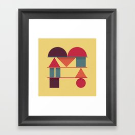 Typography series #M Framed Art Print