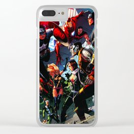 combined attack Clear iPhone Case