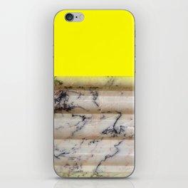 Greek Yellow Marble iPhone Skin