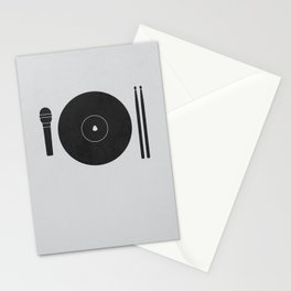 hungry to rock Stationery Cards