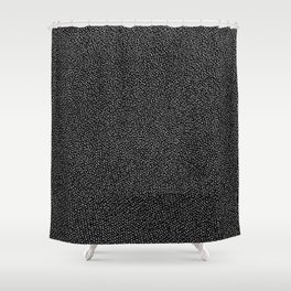 Static Stones Shower Curtain