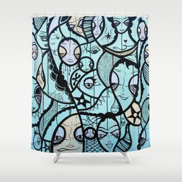 Twisted Tale Shower Curtain
