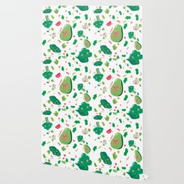 Veggy Pattern Wallpaper