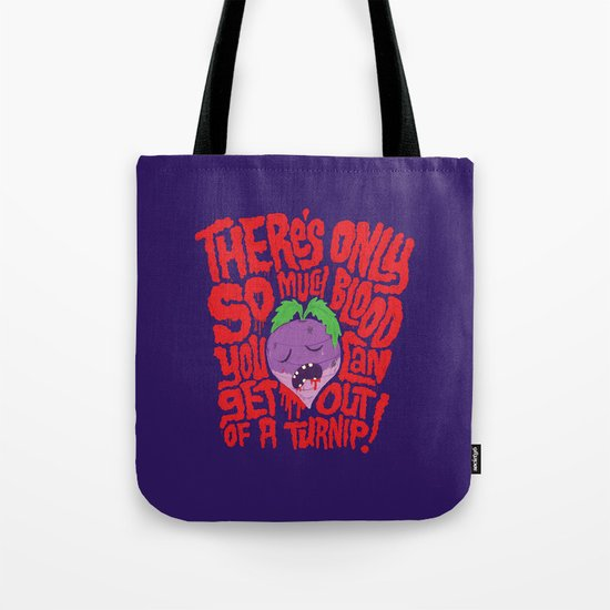 Bloody Turnips Tote Bag