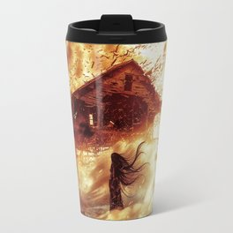 And Now... Kiss The Burning Darkness Travel Mug
