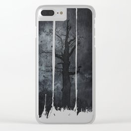 The dirty winter spirit Clear iPhone Case