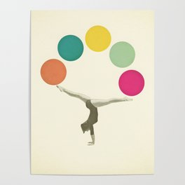 Gymnastics II Poster