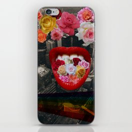 Flower  Vomit iPhone Skin