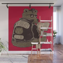 Introverts Club Wall Mural