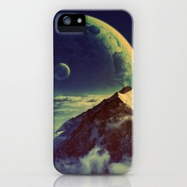 High Mountain iPhone Case