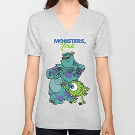 Monsters Ink Unisex V-Neck