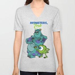 Monsters Ink Unisex V-Neck