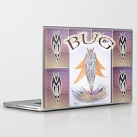 bug Laptop & iPad Skins featuring BUG by CrismanArt