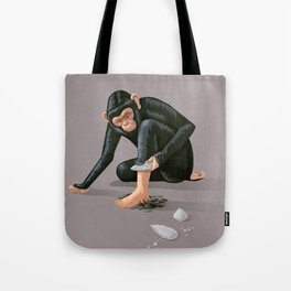 Time to evolve Tote Bag