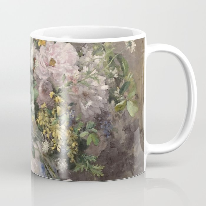 Auguste Renoir Spring Bouquet Coffee Mug By Alexandra Arts Society6