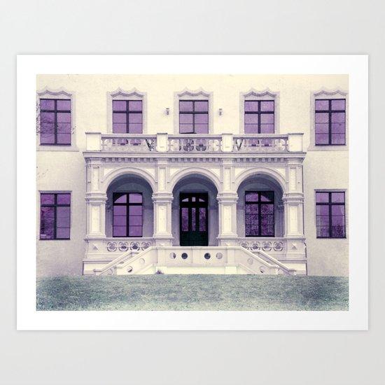 My home is my castle Art Print