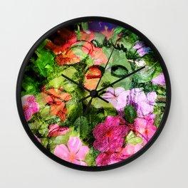 New Earth Rising Wall Clock
