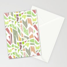 Abstract pattern . Geometric shapes . Stationery Cards