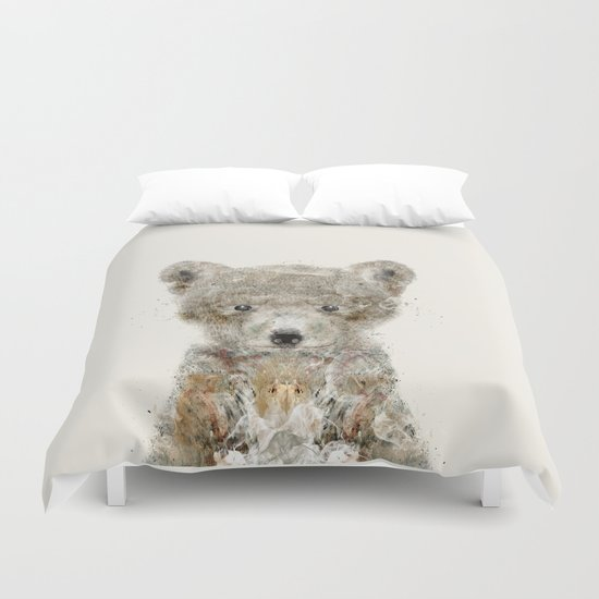 little wolf Duvet Cover