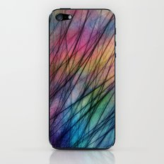 Tropical Feather Abstract II iPhone & iPod Skin